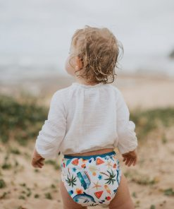 SEEDLING BABY REUSABLE NAPPY WRAP - COMODO - SUMMER